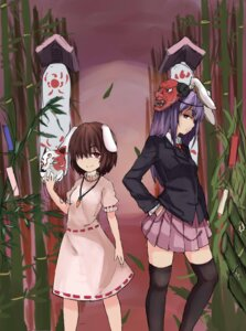 Rating: Safe Score: 7 Tags: ctandweg inaba_tewi reisen_udongein_inaba thighhighs touhou User: Mr_GT