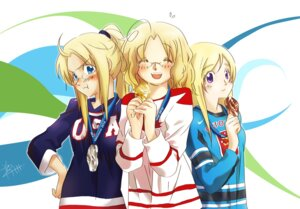 Rating: Safe Score: 6 Tags: america canada finland hetalia_axis_powers megane piggy_ho_ho User: Radioactive