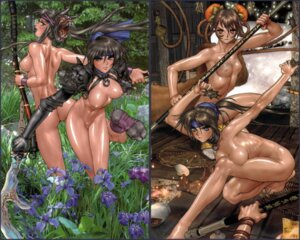 Rating: Questionable Score: 43 Tags: naked nipples shirow_masamune wallpaper User: Nazzrie