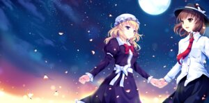 Rating: Safe Score: 22 Tags: cetera maribel_han touhou usami_renko User: 椎名深夏