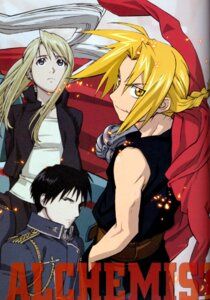 Rating: Safe Score: 4 Tags: binding_discoloration edward_elric fullmetal_alchemist roy_mustang winry_rockbell User: slovar