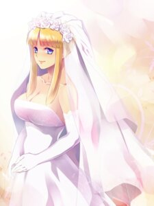 Rating: Safe Score: 24 Tags: cleavage dress kanikame metal_saga no_bra wedding_dress User: mash