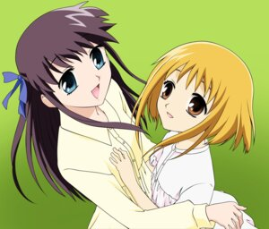 Rating: Safe Score: 4 Tags: fruits_basket honda_tohru sohma_kisa vector_trace User: Radioactive