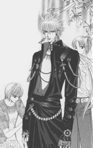 Rating: Safe Score: 4 Tags: fuwa_shoutarou monochrome nakamura_yoshiki skip_beat User: charunetra
