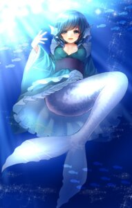 Rating: Safe Score: 46 Tags: kanzaki_maguro mermaid touhou wakasagihime User: Mr_GT