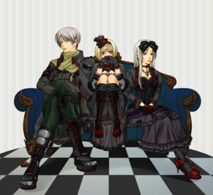 Rating: Safe Score: 3 Tags: belarus dress gothic_lolita hetalia_axis_powers lolita_fashion mutsuki_(sexyrush) russia ukraine User: Radioactive