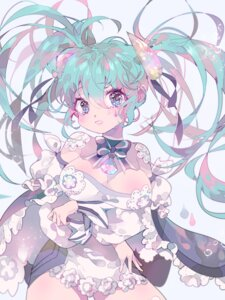 Rating: Questionable Score: 30 Tags: cleavage hatsune_miku inhye vocaloid User: charunetra