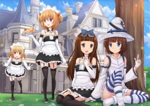 Rating: Safe Score: 35 Tags: kazenokaze luna_child maid star_sapphire stockings sunny_milk thighhighs touhou wings witch User: Mr_GT
