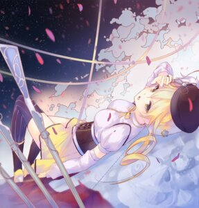 Rating: Safe Score: 26 Tags: la-na puella_magi_madoka_magica thighhighs tomoe_mami User: 椎名深夏