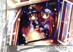 Rating: Safe Score: 20 Tags: eefy maribel_han shino_(eefy) touhou usami_renko User: midzki
