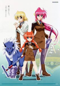 Rating: Safe Score: 6 Tags: mahou_shoujo_lyrical_nanoha mahou_shoujo_lyrical_nanoha_strikers shamal signum vita zafira User: Radioactive