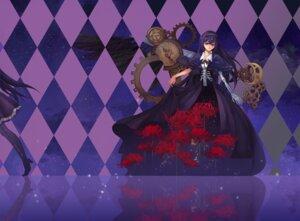 Rating: Safe Score: 9 Tags: akemi_homura dress heels nataku39 puella_magi_madoka_magica wings User: Mr_GT