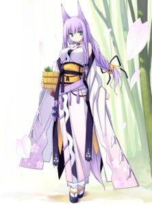 Rating: Safe Score: 76 Tags: animal_ears kimono kitsune poco User: Radioactive