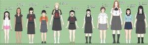 Rating: Questionable Score: 9 Tags: bra character_design cuzukago loli megane overalls see_through seifuku tan_lines User: FlashySnowMan