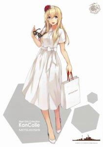 Rating: Safe Score: 45 Tags: dress kantai_collection konishi megane warspite_(kancolle) User: jeffer159