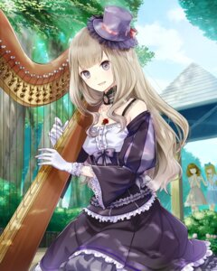 Rating: Safe Score: 32 Tags: dress gothic_lolita lolita_fashion school_fanfare User: saemonnokami