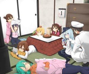 Rating: Safe Score: 36 Tags: admiral_(kancolle) akatsuki_(kancolle) hibiki_(kancolle) ikazuchi_(kancolle) inazuma_(kancolle) kantai_collection musk_tiger pajama pantyhose prinz_eugen_(kancolle) ryuujou_(kancolle) seifuku suzuya_(kancolle) sweater undressing User: Mr_GT