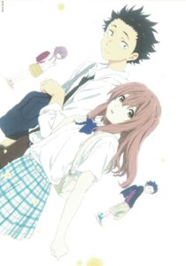 Rating: Safe Score: 30 Tags: ishida_shouya koe_no_katachi nishimiya_shouko seifuku User: yswysc