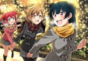 Rating: Safe Score: 11 Tags: christmas kunikida_hanamaru kurosawa_ruby love_live!_sunshine!! pantyhose seifuku tagme tsushima_yoshiko User: NotRadioactiveHonest