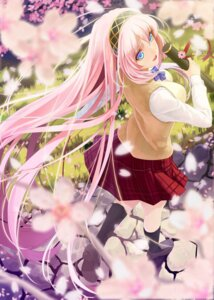 Rating: Safe Score: 99 Tags: megurine_luka okingjo seifuku vocaloid User: Mr_GT
