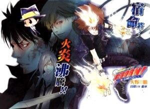 Rating: Safe Score: 3 Tags: amano_akira katekyo_hitman_reborn! male reborn sawada_tsunayoshi superbi_squalo sword xanxus User: LulukoVladmont