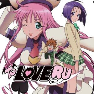 Rating: Safe Score: 17 Tags: digital_version lala_satalin_deviluke sairenji_haruna seifuku tail to_love_ru yuuki_rito User: LiHaonan