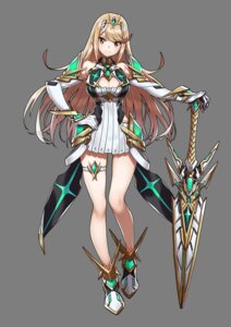 Rating: Safe Score: 42 Tags: armor cleavage dress garter hikari nintendo saitom sword transparent_png xenoblade xenoblade_chronicles_2 User: fly24