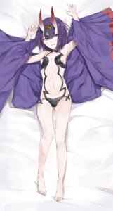 Rating: Questionable Score: 48 Tags: cleavage dakimakura fate/grand_order horns no_bra open_shirt pantsu shuten_douji_(fate/grand_order) silver_(chenwen) User: Radioactive