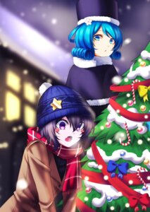 Rating: Safe Score: 18 Tags: christmas kaku_seiga koissa miyako_yoshika touhou User: Mr_GT