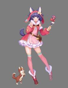 Rating: Safe Score: 28 Tags: animal_ears dress lunapri tagme tail thighhighs transparent_png User: saemonnokami