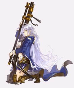 Rating: Safe Score: 40 Tags: granblue_fantasy gun senmu silva_(granblue_fantasy) thighhighs weapon User: fairyren