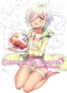 Rating: Safe Score: 22 Tags: darwins_game flipflops sui_(darwins_game) takahata_yuki User: Radioactive
