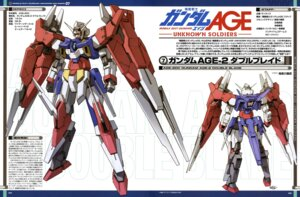 Rating: Safe Score: 8 Tags: ebikawa_kanetake gundam gundam_age mecha User: solidvanz