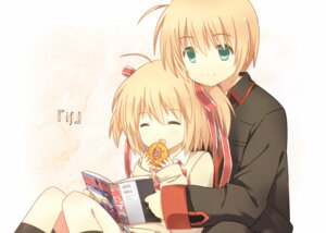 Rating: Safe Score: 26 Tags: kamikita_komari kamikita_takuya little_busters! seifuku tagme User: aihost