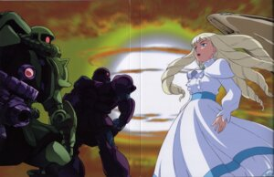 Rating: Safe Score: 5 Tags: gundam kihel_heim turn_a_gundam User: Radioactive
