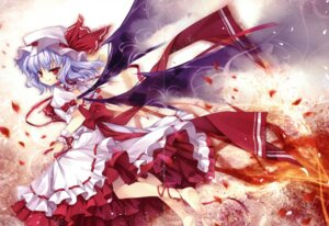 Rating: Safe Score: 8 Tags: capura.l crease eternal_phantasia remilia_scarlet scanning_dust touhou User: midzki