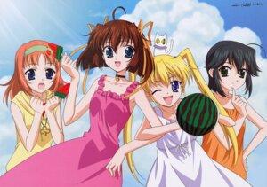 Rating: Safe Score: 1 Tags: amakase_miharu asakura_nemu da_capo da_capo_(series) dress maruyama_takashi mizukoshi_mako neko summer_dress utamaru yoshino_sakura User: jxh2154
