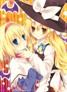 Rating: Safe Score: 8 Tags: alice_margatroid kirisame_marisa lolita_fashion nozumi touhou User: Radioactive