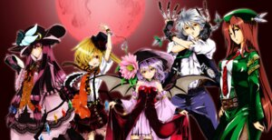 Rating: Safe Score: 11 Tags: dress flandre_scarlet fragment04 hong_meiling izayoi_sakuya patchouli_knowledge remilia_scarlet touhou User: Mr_GT
