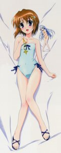 Rating: Safe Score: 29 Tags: dakimakura mahou_shoujo_lyrical_nanoha mahou_shoujo_lyrical_nanoha_a's swimsuits yagami_hayate User: admin2