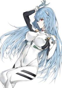 Rating: Questionable Score: 35 Tags: ayanami_rei bodysuit erect_nipples neon_genesis_evangelion yukineko1018 User: yanis