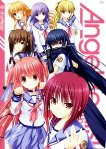 Rating: Safe Score: 29 Tags: angel_beats! hisako irie_(angel_beats!) iwasawa key seifuku sekine shiina tail weapon yui_(angel_beats!) yusa User: Radioactive