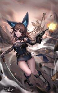 Rating: Questionable Score: 17 Tags: animal_ears blade_&_soul gun kie_(wylee2212) tagme weapon User: Dreista