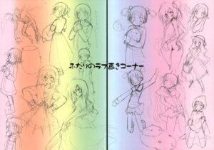 Rating: Questionable Score: 3 Tags: gap mizuki_hotaru sketch tsukinon tsukinon_bunko twinkle_heart User: midzki