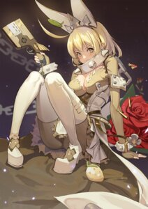 Rating: Safe Score: 50 Tags: cleavage elphelt_valentine guilty_gear heels pantyhose tagme thighhighs User: nphuongsun93