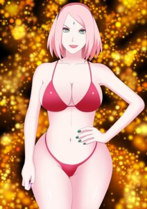Rating: Questionable Score: 14 Tags: bikini goddess_sakura haruno_sakura naruto swimsuits User: popcorn1239