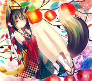 Rating: Safe Score: 69 Tags: animal_ears kitsune ranhana tail User: tbchyu001