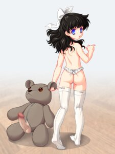 Rating: Explicit Score: 20 Tags: ass censored loli miyama_kannon pantsu penis thighhighs thong topless User: Mogunzo
