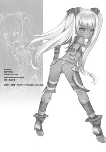 Rating: Questionable Score: 20 Tags: ass ayumi blade monochrome pantsu thong x-blades User: Radioactive