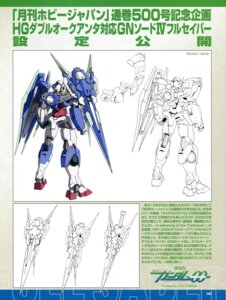 Rating: Safe Score: 9 Tags: 00_qan[t] character_design ebikawa_kanetake gundam gundam_00 gundam_00:_a_wakening_of_the_trailblazer line_art mecha monochrome User: harimahario
